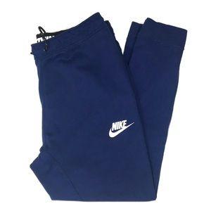 Nike Knit Jogger Athletic Sweat Pant Men's Blue M